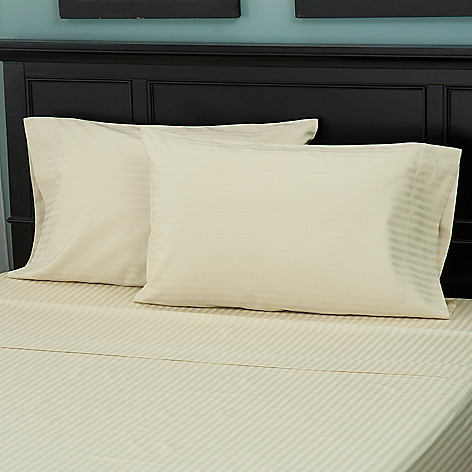 431-229 - North Shore Linens™ 600TC Egyptian Cotton SureSoft® Pillowcase Pair