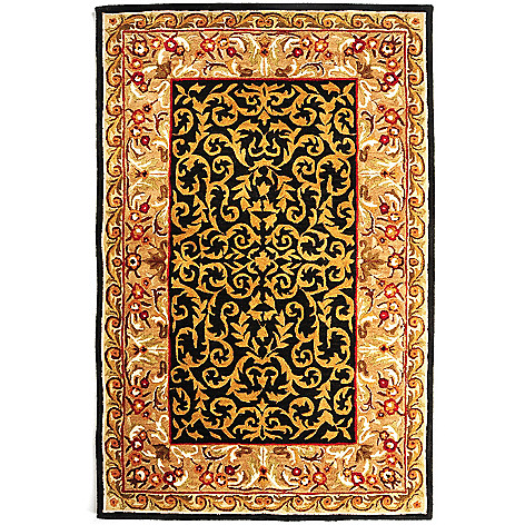 431-262 - Bashian Rugs 5' x 8' or 8' x 10' Hand Tufted 100% Wool Rug