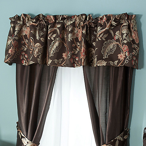 431-347 - North Shore Linens™ ''Belmont'' Window Valance
