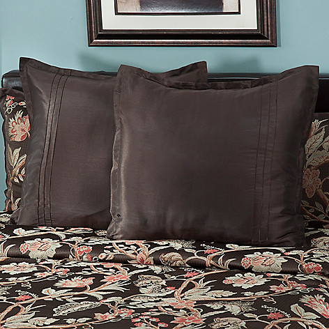 431-393 - North Shore Linens™ ''Belmont'' Euro Sham Pair