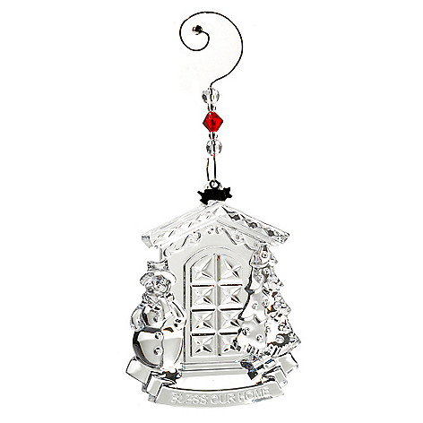 431-546 - Waterford® Crystal 2012 ''Bless Our Home'' 4-1/3'' Ornament