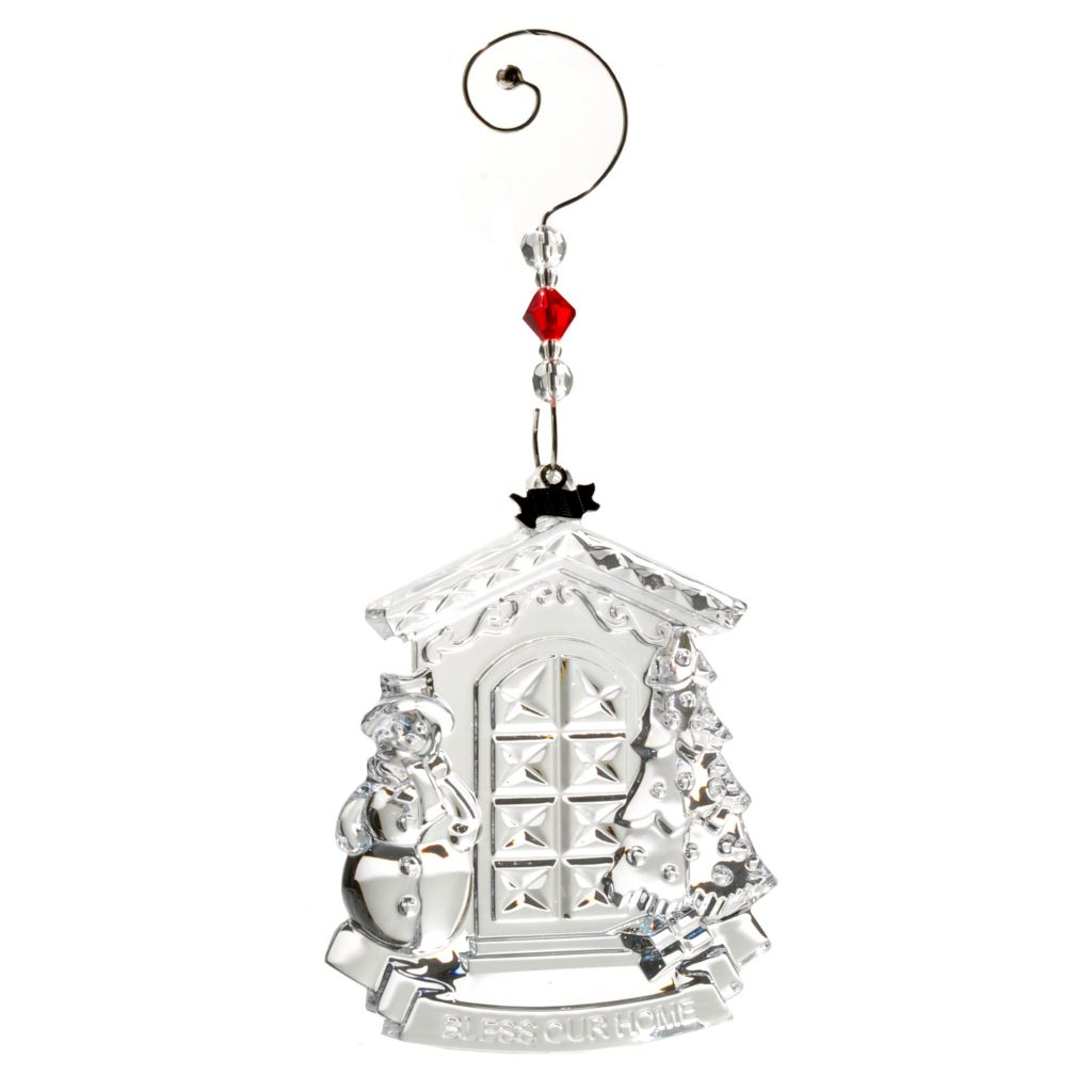 "431-546 - Waterford® Crystal 2012 ""Bless Our Home"" 4-1/3"" Ornament"