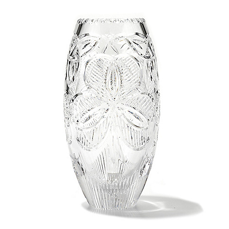 431-559 - House of Waterford® Irish Shamrock 10'' Crystal Vase