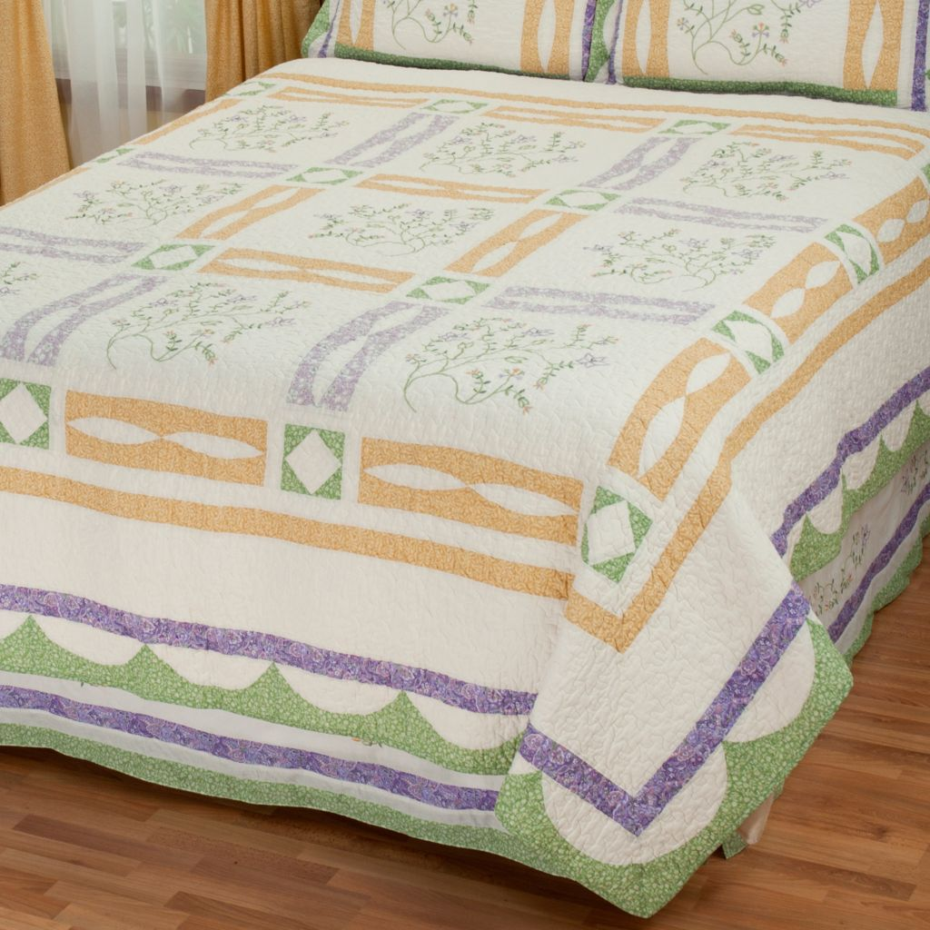 "431-743 - North Shore™ Collectible Quilts ""Jasper"" Limited Edition Cotton Quilt"