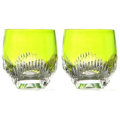 431-745 -  Waterford® Crystal Mixology Talon Set of Two 10 oz Double Old Fashioned Glasses