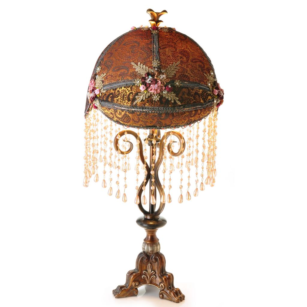 "431-873 - 26"" Antonia Beaded Table Lamp"