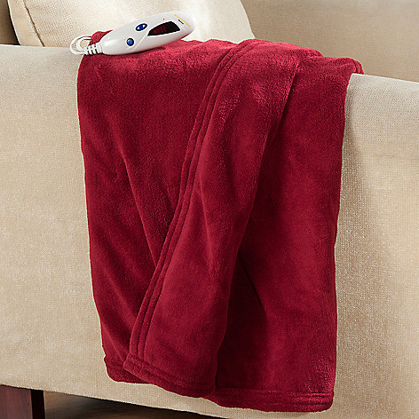 432-497 - Cozelle® 62'' x 50'' Micro Plush Digital Electric Throw
