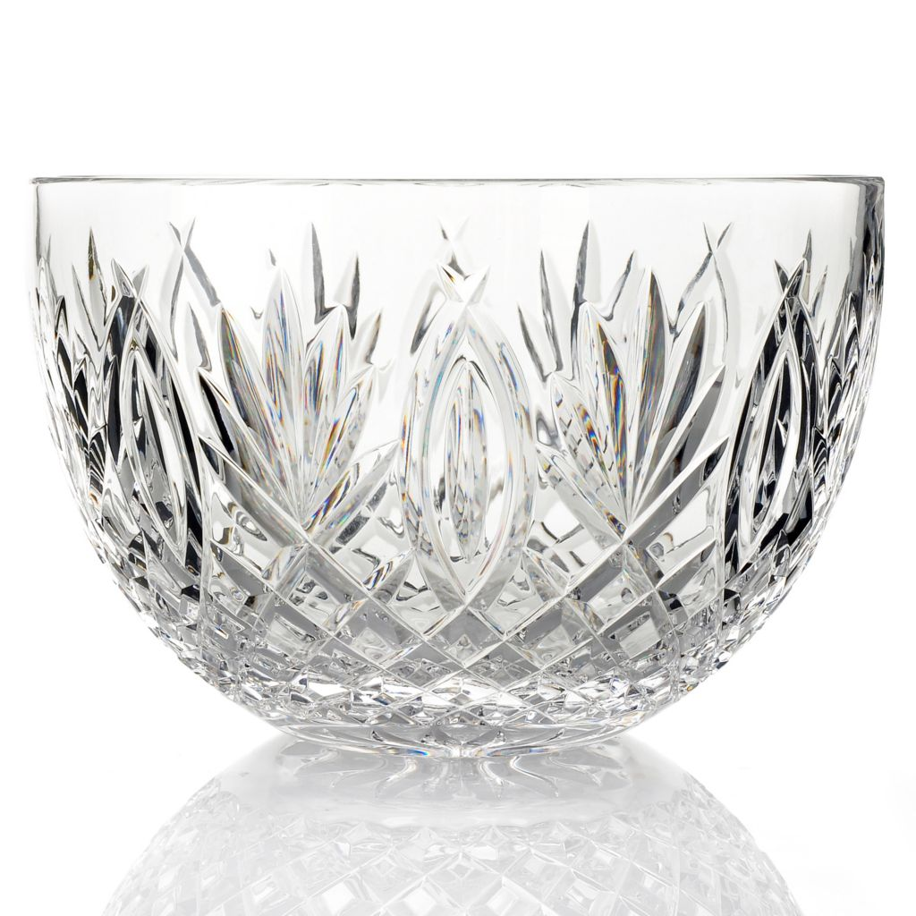 "432-523 - Waterford® Crystal Granville 10"" Bowl -Signed by Jorge Perez"