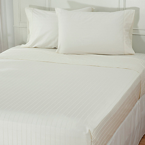 432-542 - Grand Suites® 530TC Cotton & Silk Jacquard Four-Piece Sheet Set