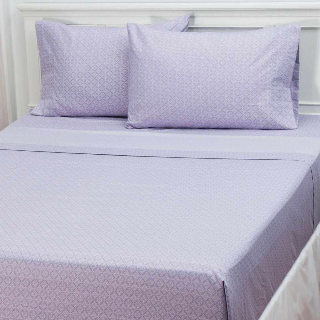 "433-294 - Cozelle® ""Charlotte"" Microfiber Four-Piece Sheet Set"