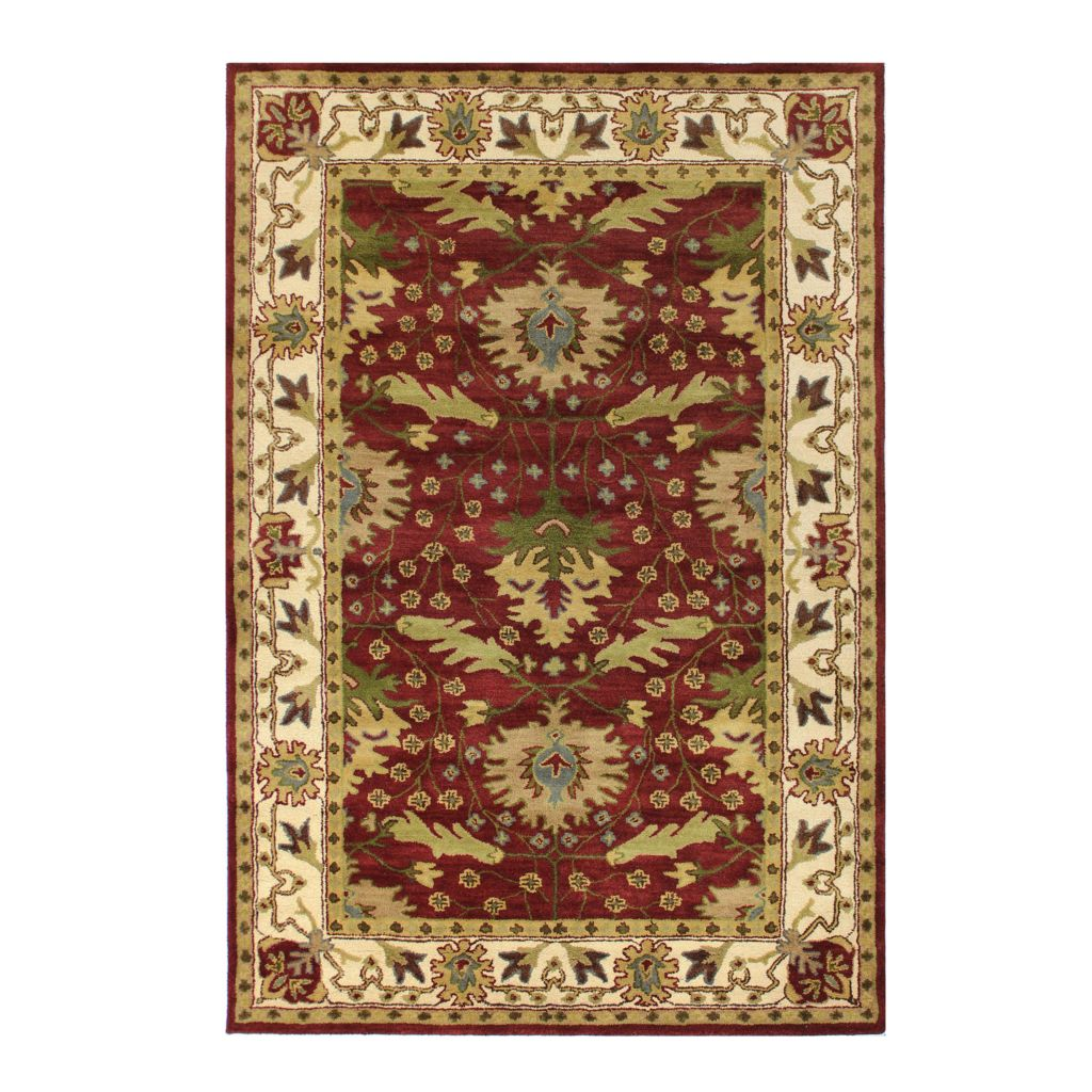 433-751 - Bashian Rugs Arts & Crafts Style Hand-Tufted 100% Wool Rug