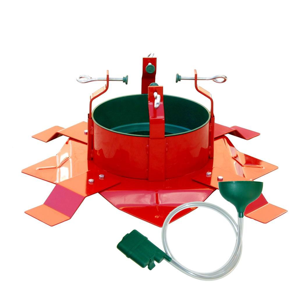 433-789 - The Christmas Tree Company Deluxe Solid-Steel Christmas Tree Stand w/ Auto-Stop Water System