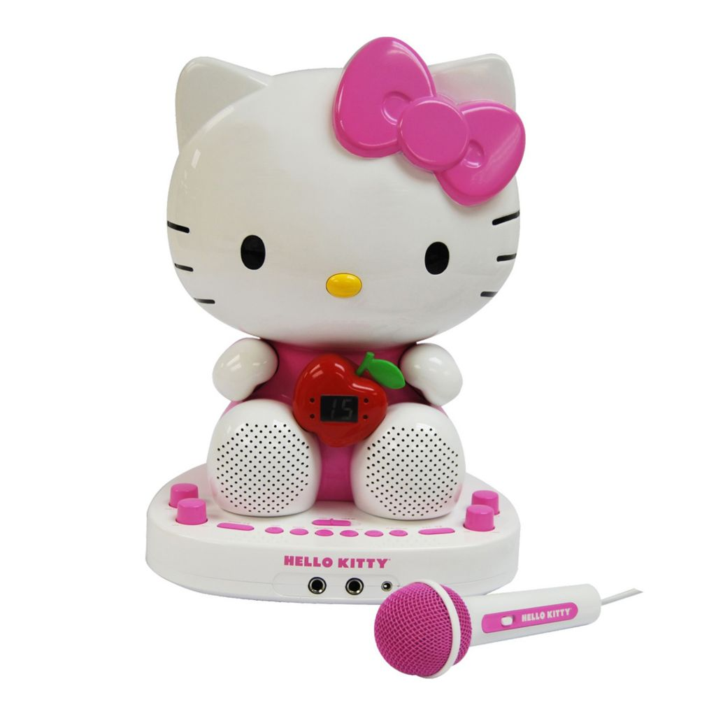 433-850 - Hello Kitty® CDG Karaoke System with Built-in Video Camera