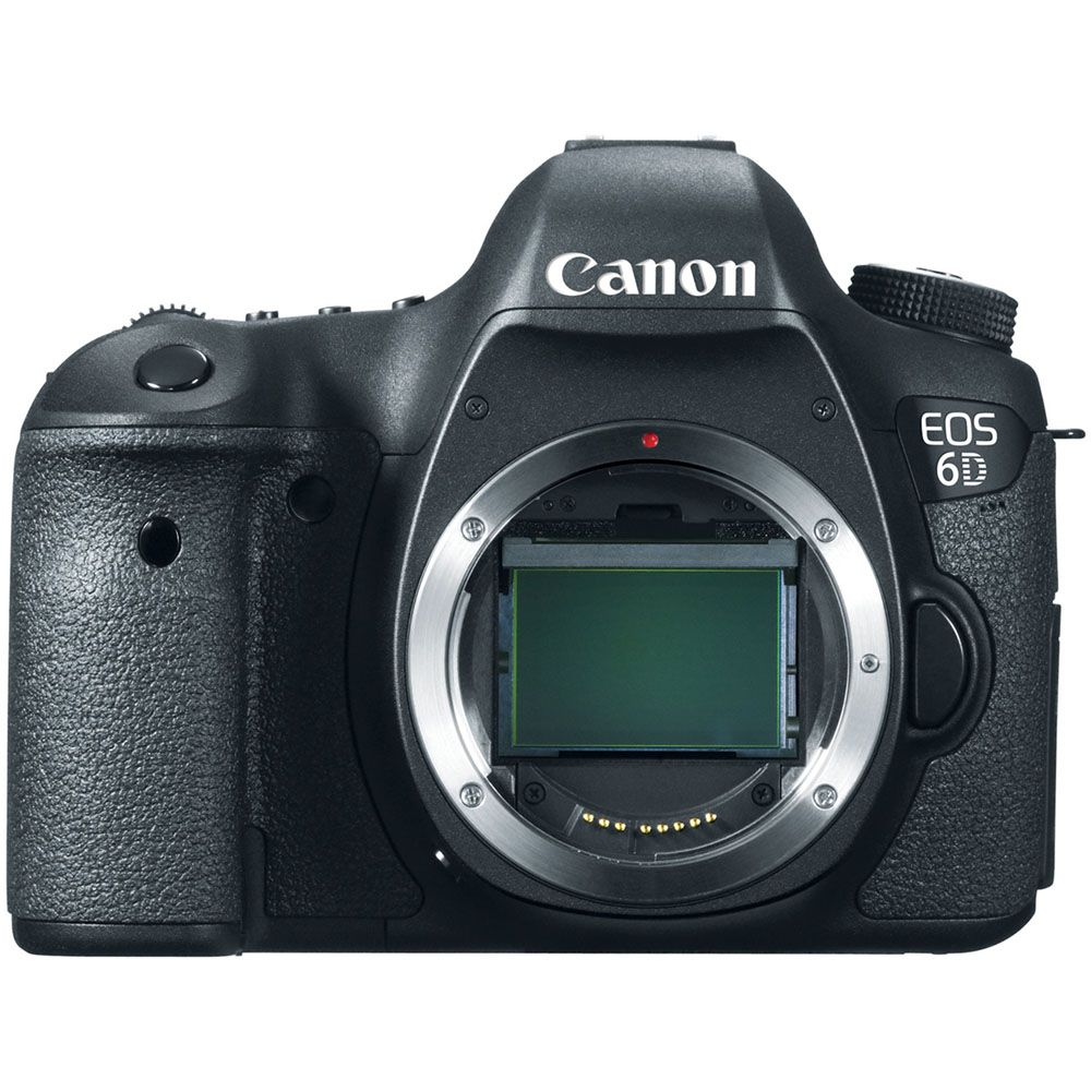 433-969 - Canon 8035B002 EOS 6D 20.2MP Digital SLR Camera Body Only (Lens Required)