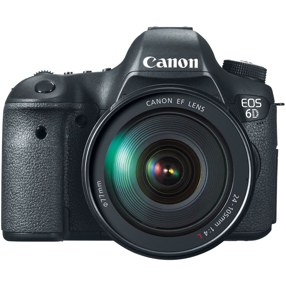 433-974 - Canon 8035B009 EOS 6D 20.2MP Digital SLR Camera w/ EF 24-105mm Lens