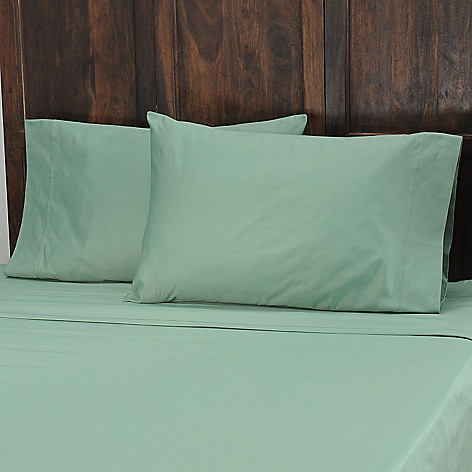 434-054 - North Shore Linens™ 1000TC Egyptian Cotton Marrow Stitch SureSoft® Pillowcase Pair