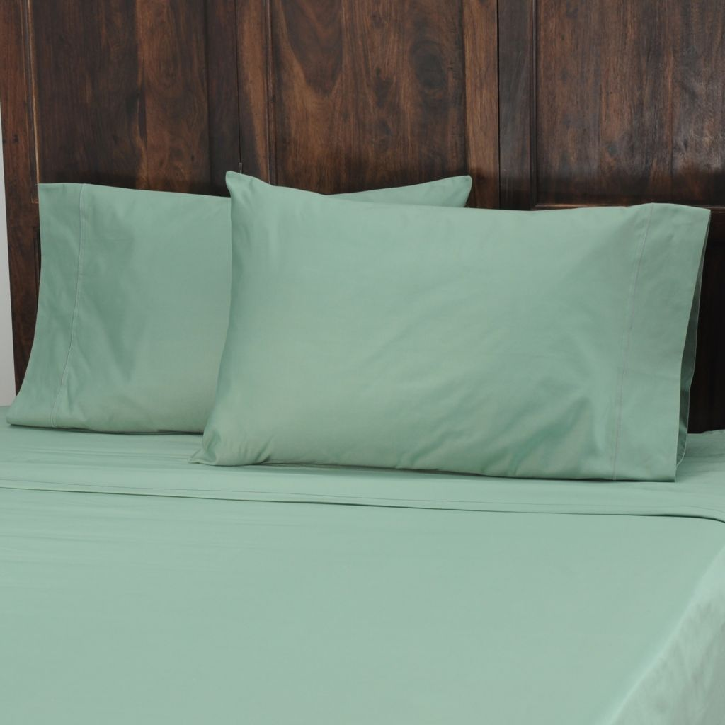 434-054 - North Shore Linens™ 1000TC Egyptian Cotton Marrow Stitch SureSoft™ Pillowcase Pair