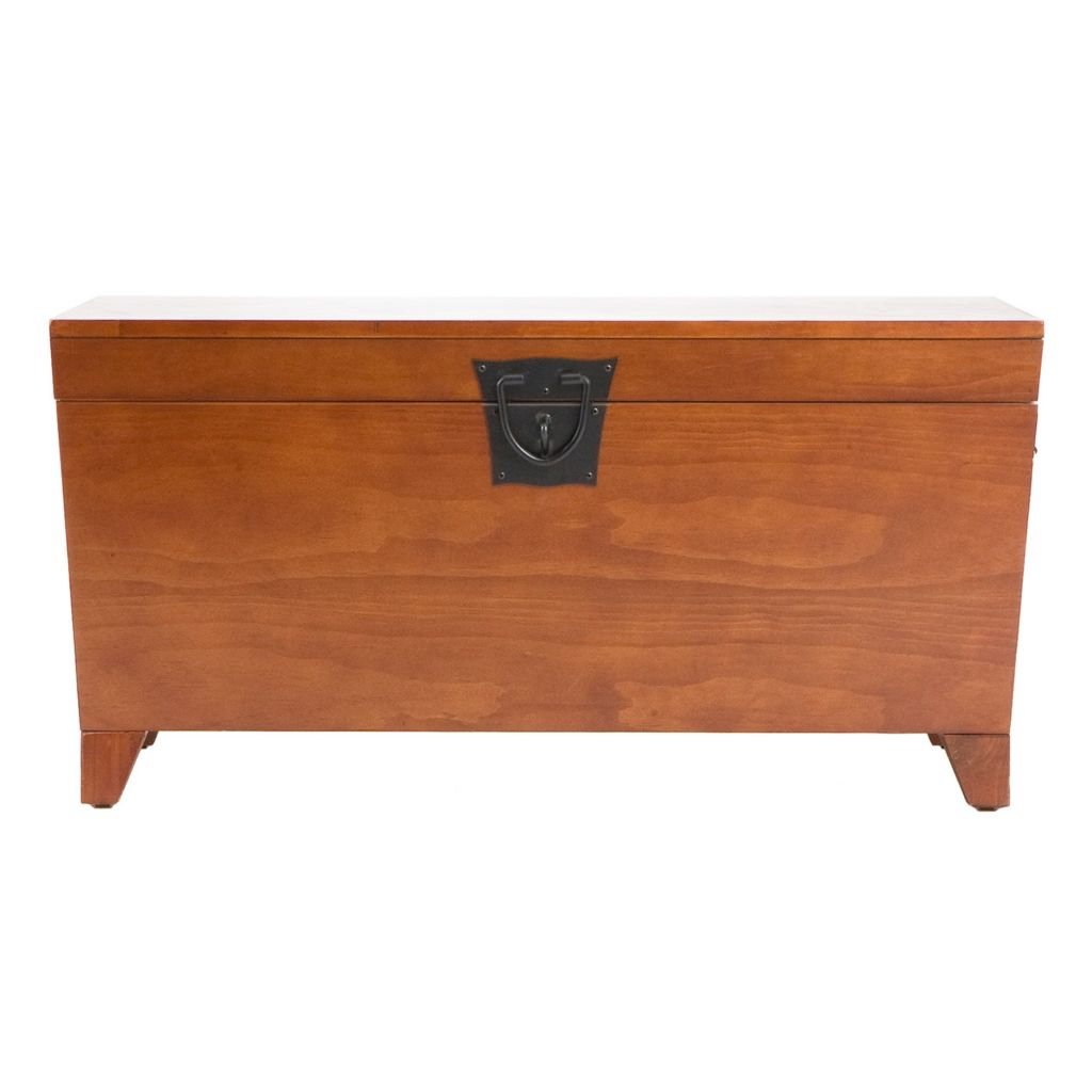 434-182 - Holly & Martin™ Oak Pyramid Trunk Cocktail Table
