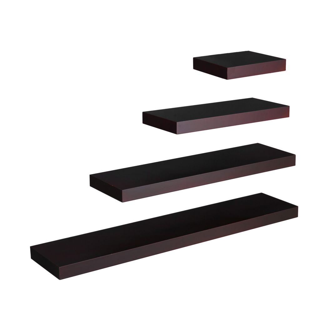 "434-292 - Holly & Martin™ 24"" Espresso Chicago Floating Shelf"