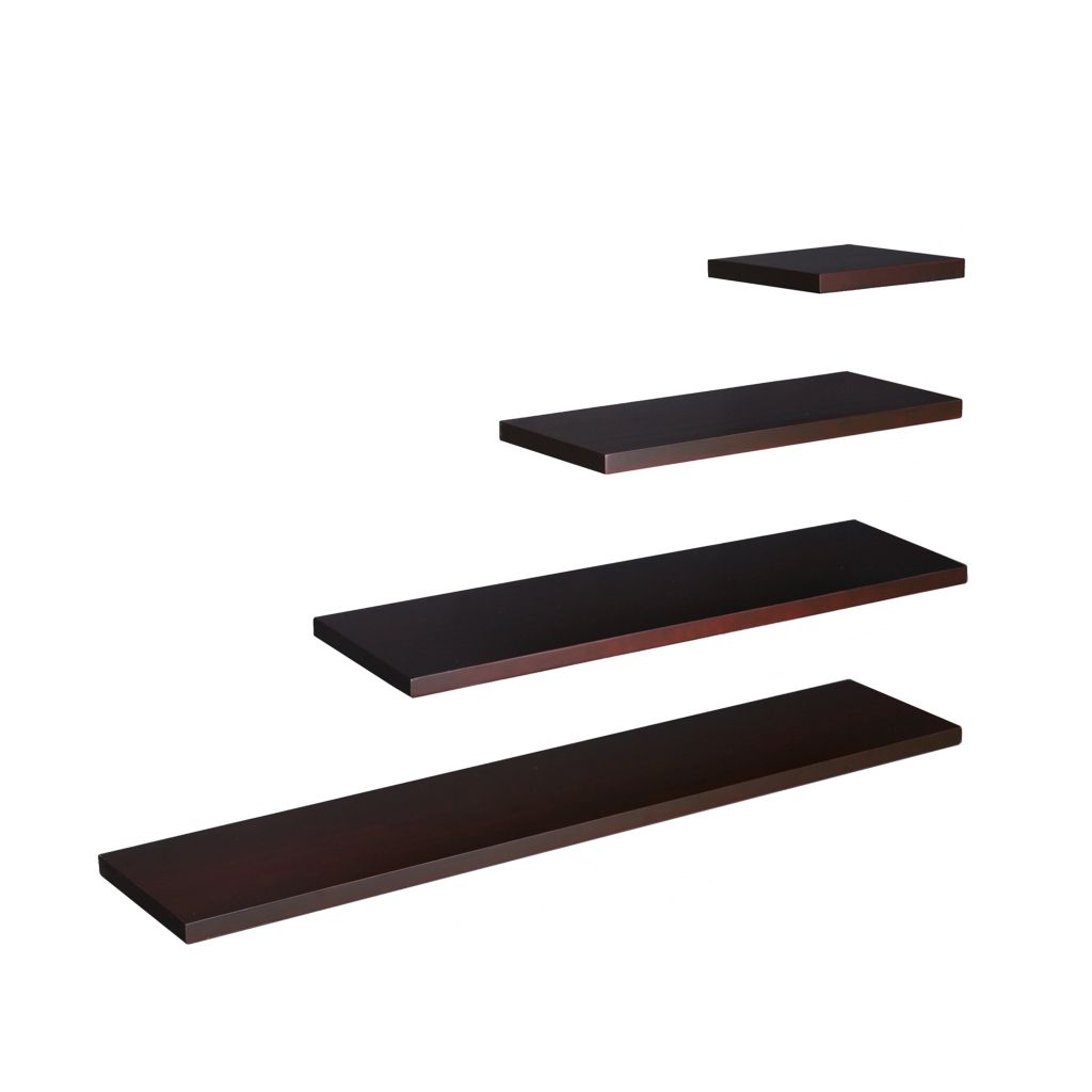 "434-304 - Holly & Martin™ 48"" Espresso Aspen Floating Shelf"