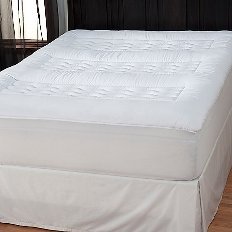 434-326 - Cozelle® Super Loft Multi Support Microfiber Mattress Pad