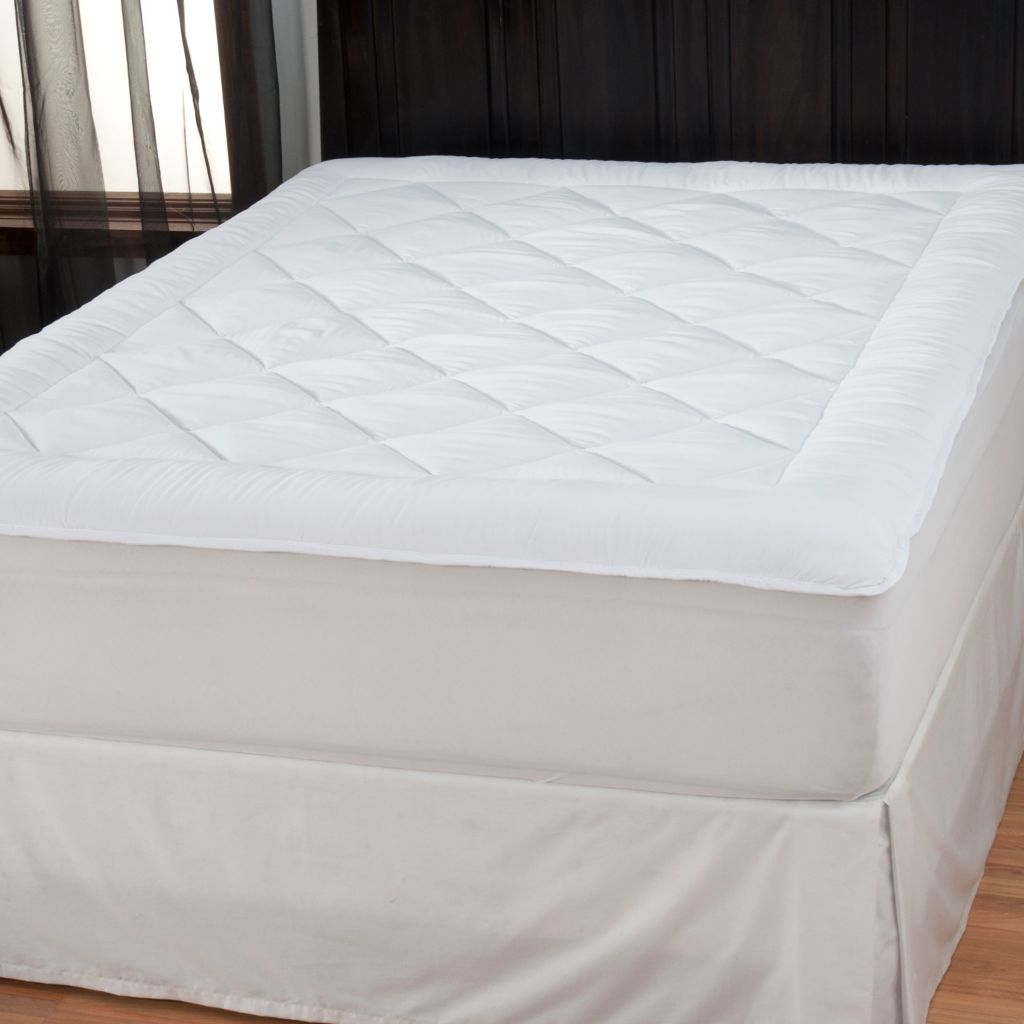 434-330 - Cozelle® Soft & Lofty Microfiber Mattress Pad
