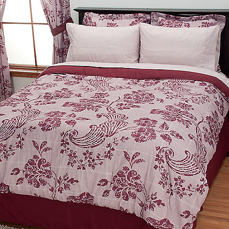 434-354 - Cozelle® ''Morgan'' Eight-Piece Bedding Ensemble