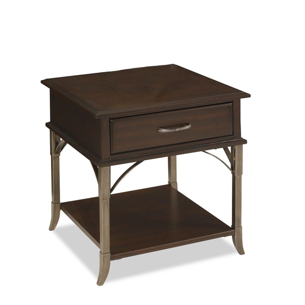 434-428 - Home Styles Bordeaux Espresso Finish End Table