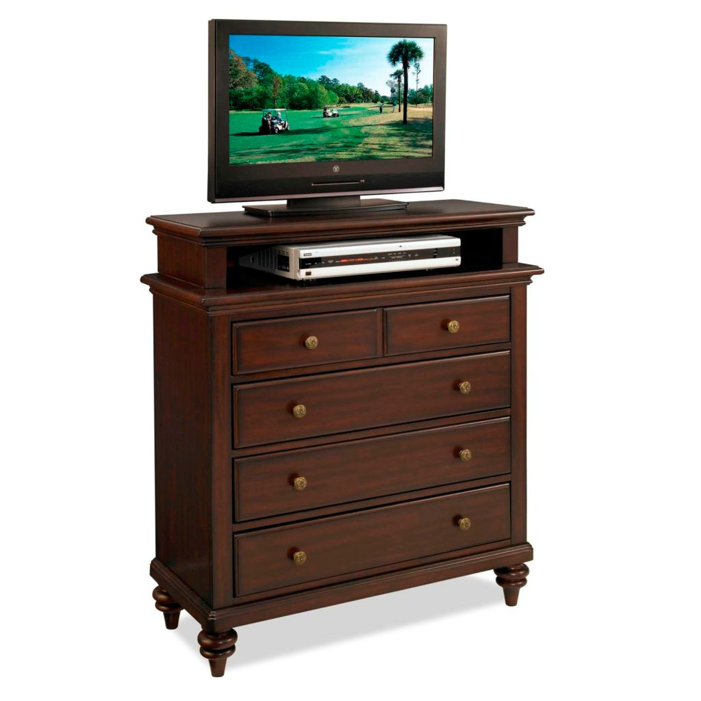 434-440 - Home Styles Bermuda Espresso Finish TV Media Chest