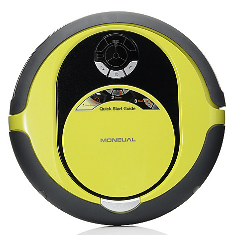 434-602 - Moneual® Rydis MR6550 14'' Floor Care Robot Cleaner Vacuum & Dry Mop