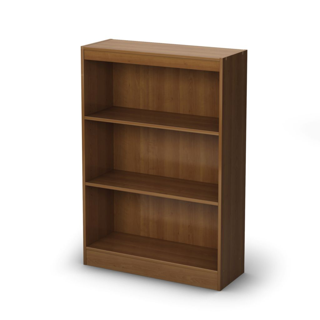 434-608 - South Shore® Three Shelf Bookcase