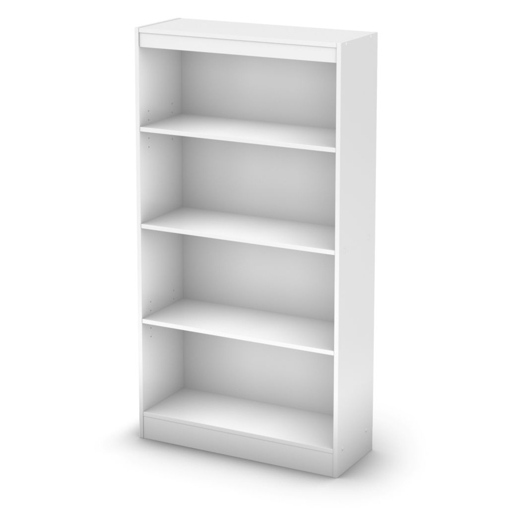 434-609 - South Shore® Four Shelf Bookcase