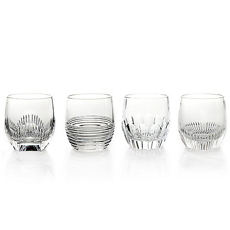 434-819 - Waterford® Crystal Mixology 10 oz. Set of Four Double Old Fashioned Glasses