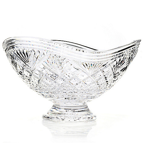 434-832 - House of Waterford® Cascade Limited Edition 12.5'' Crystal Centerpiece Bowl