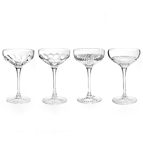 434-838 - Waterford® Crystal Mixology Set of Four 6 oz Coupes