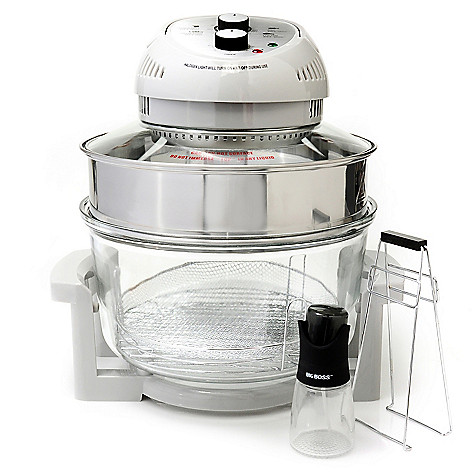 434-901 - Big Boss™ 11-Piece 1300W 16 qt Oil-Less Fryer