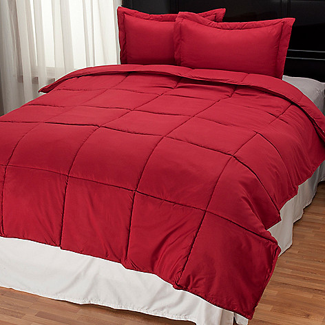 435-119 - Cozelle® Three-Piece Stayclean Microfiber Comforter Set