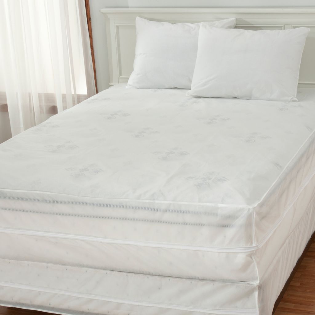 435-121 - Cozelle® Permafresh Four-Piece Box Spring, Mattress & Pillow Protector Set
