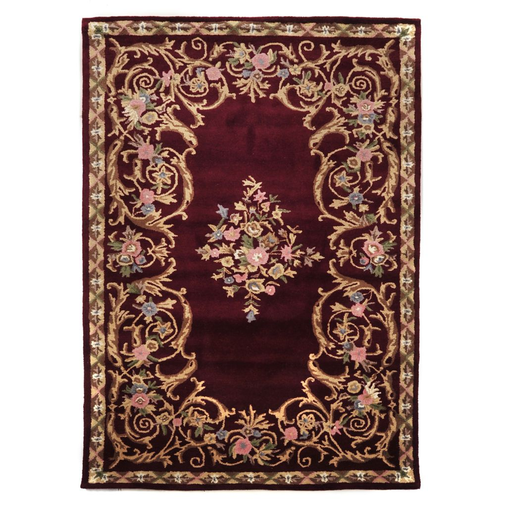 "435-303 - ""Camille"" Hand Tufted 100% Wool Rug"
