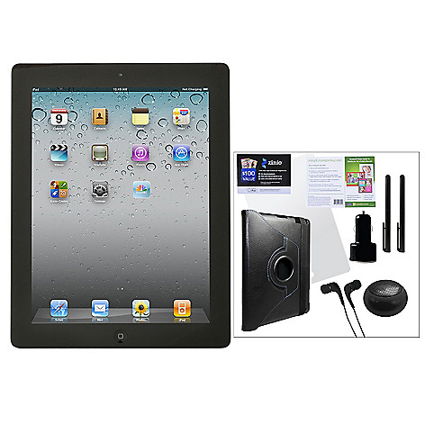 435-401 - New Apple® iPad®  4th Generation Retina Display Wi-Fi Only Tablet w/ Accessories