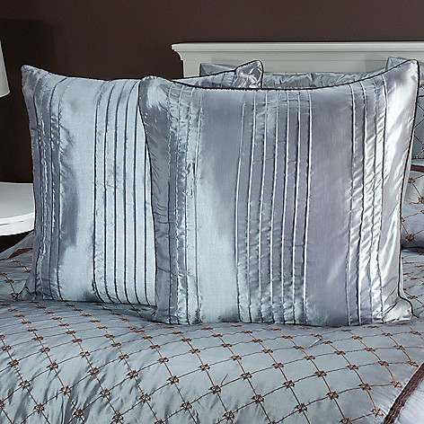 435-464 - North Shore Linens™ ''Alexa'' Euro Decorative Pillow Pair