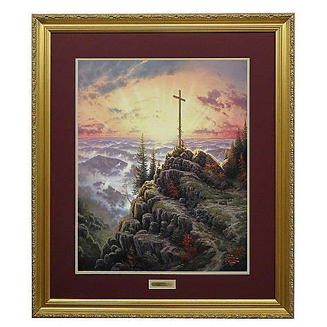 435-482 - Thomas Kinkade ''Sunrise'' Limited Edition Framed Print