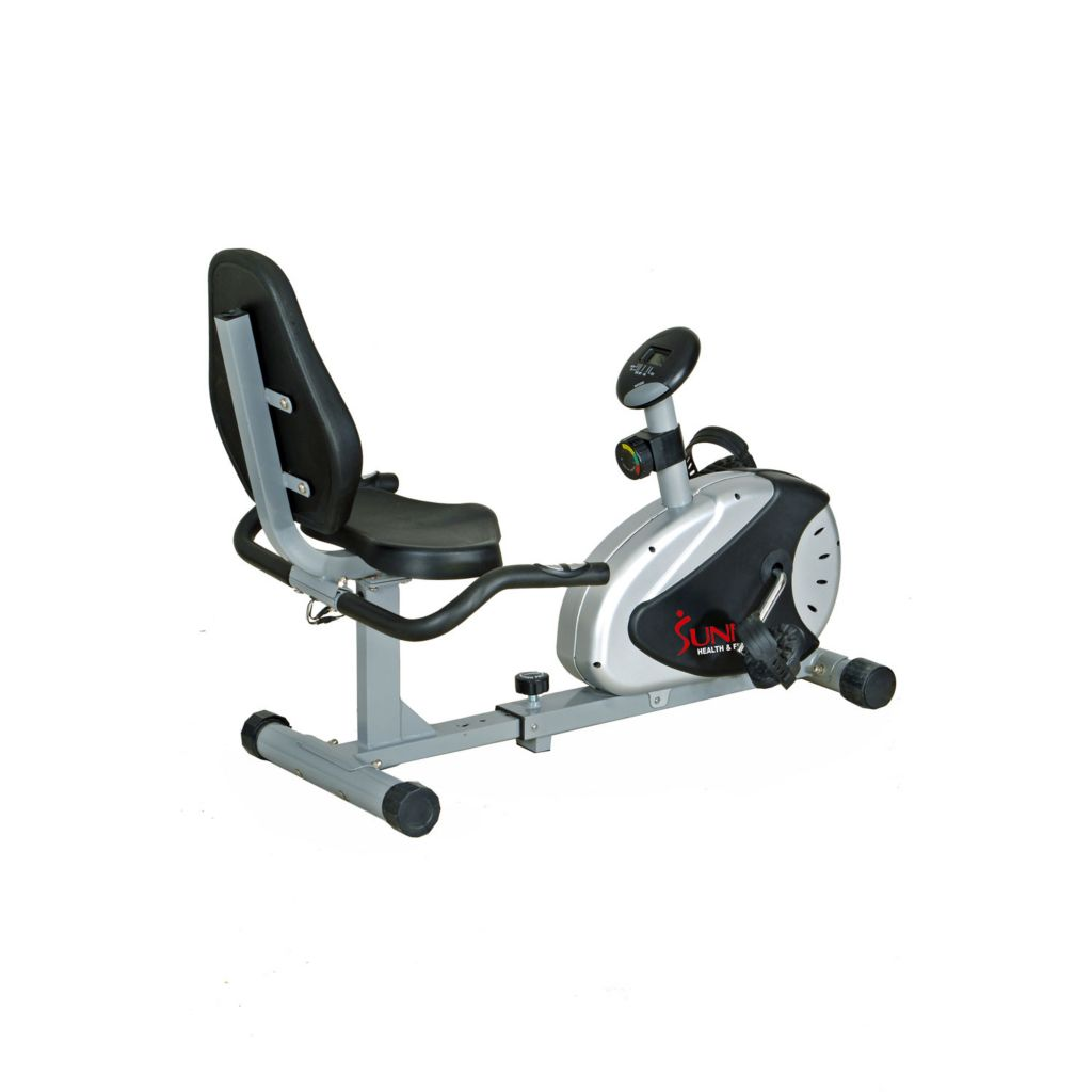 435-503 - Sunny Health & Fitness® Magnetic Recumbent Bike