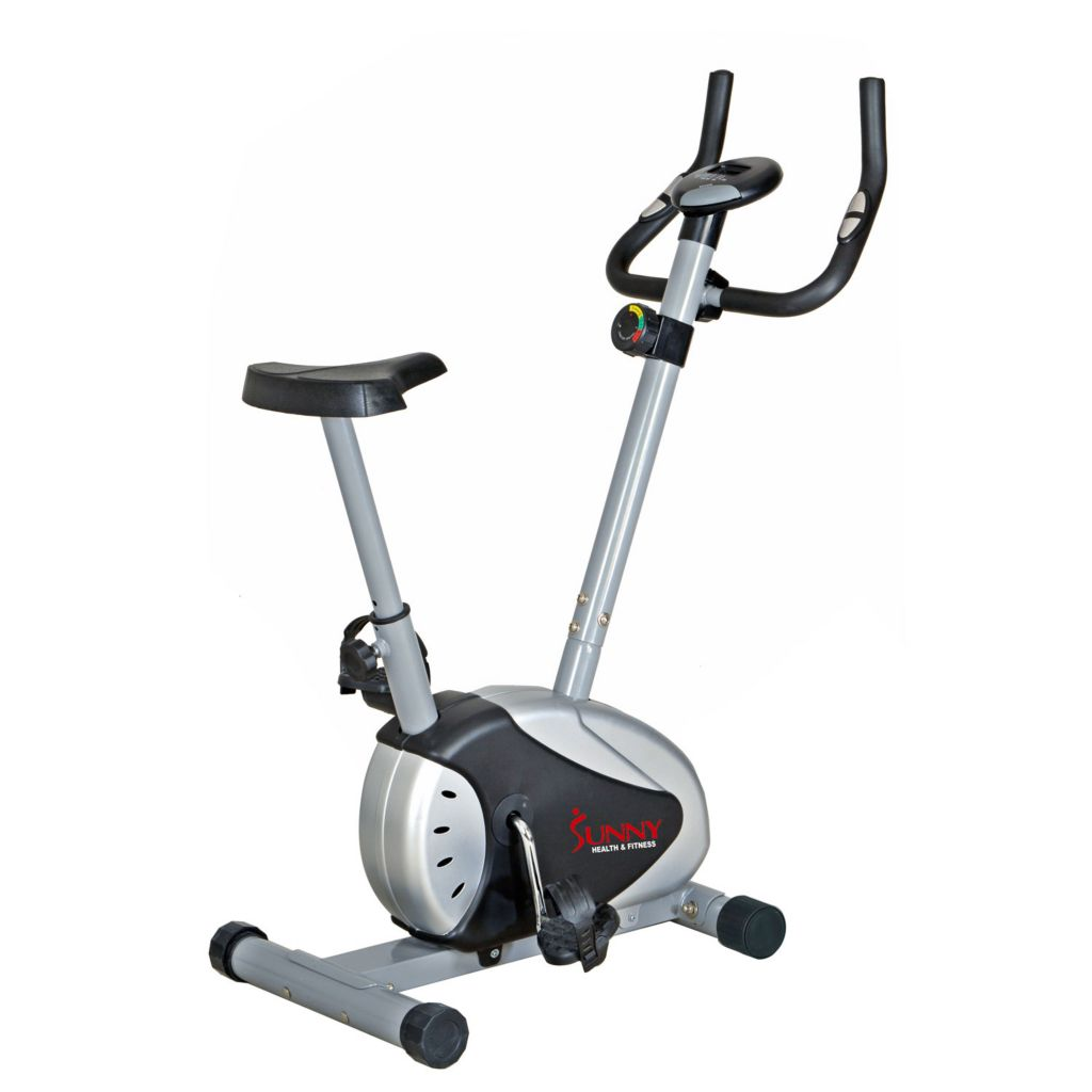 435-505 - Sunny Health & Fitness® Magnetic Upright Bike