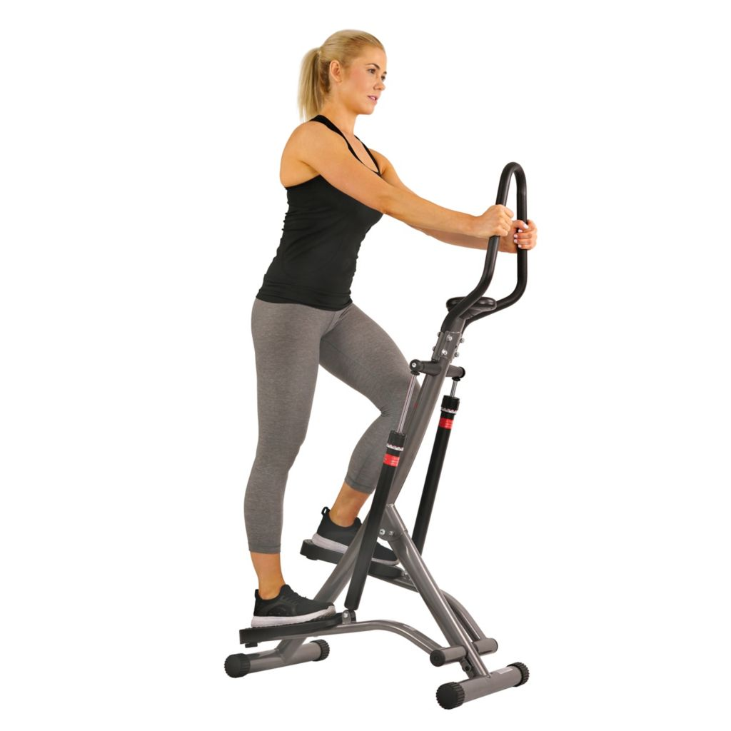 435-521 - Sunny Health & Fitness® Folding Climbing Stepper