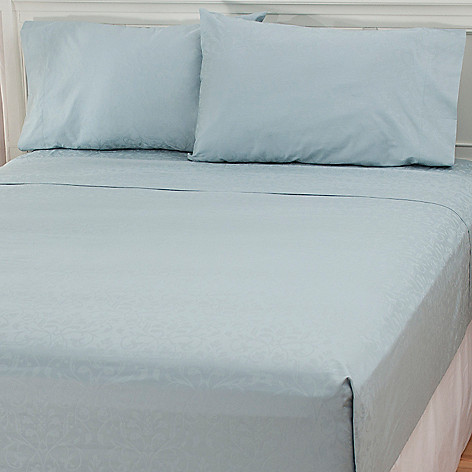 435-727 - North Shore Linens™ 500TC Egyptian Cotton Four-Piece Sheet Set