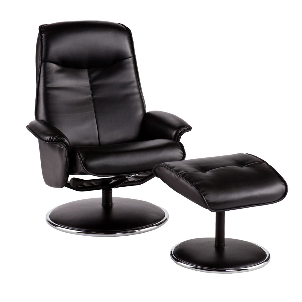 435-802 - Holly & Martin™ Naomi Bonded Leather Recliner & Ottoman