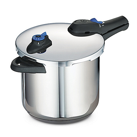 436-002 - Tramontina Select® Stainless Steel Tri-Ply Base 8 qt Variable Setting Pressure Cooker