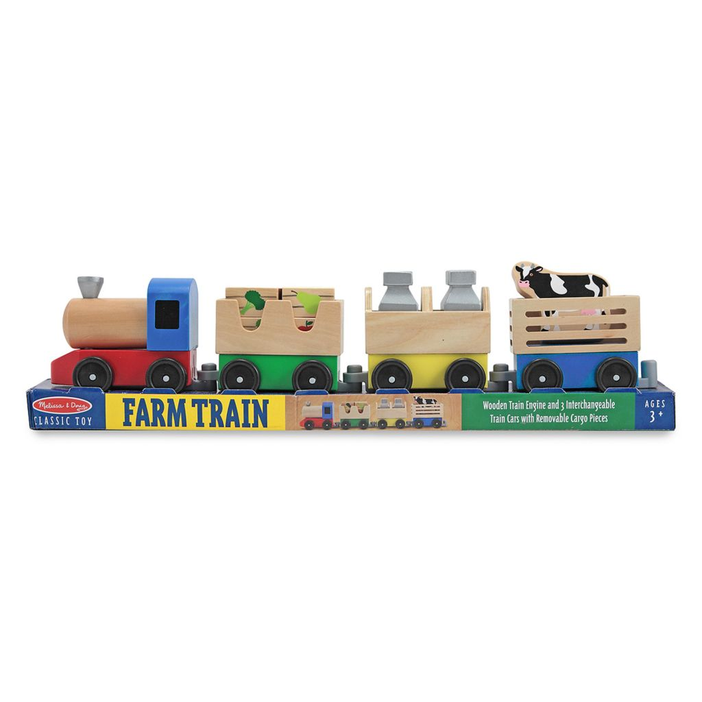 436-131 - Melissa & Doug® Farm Train Set