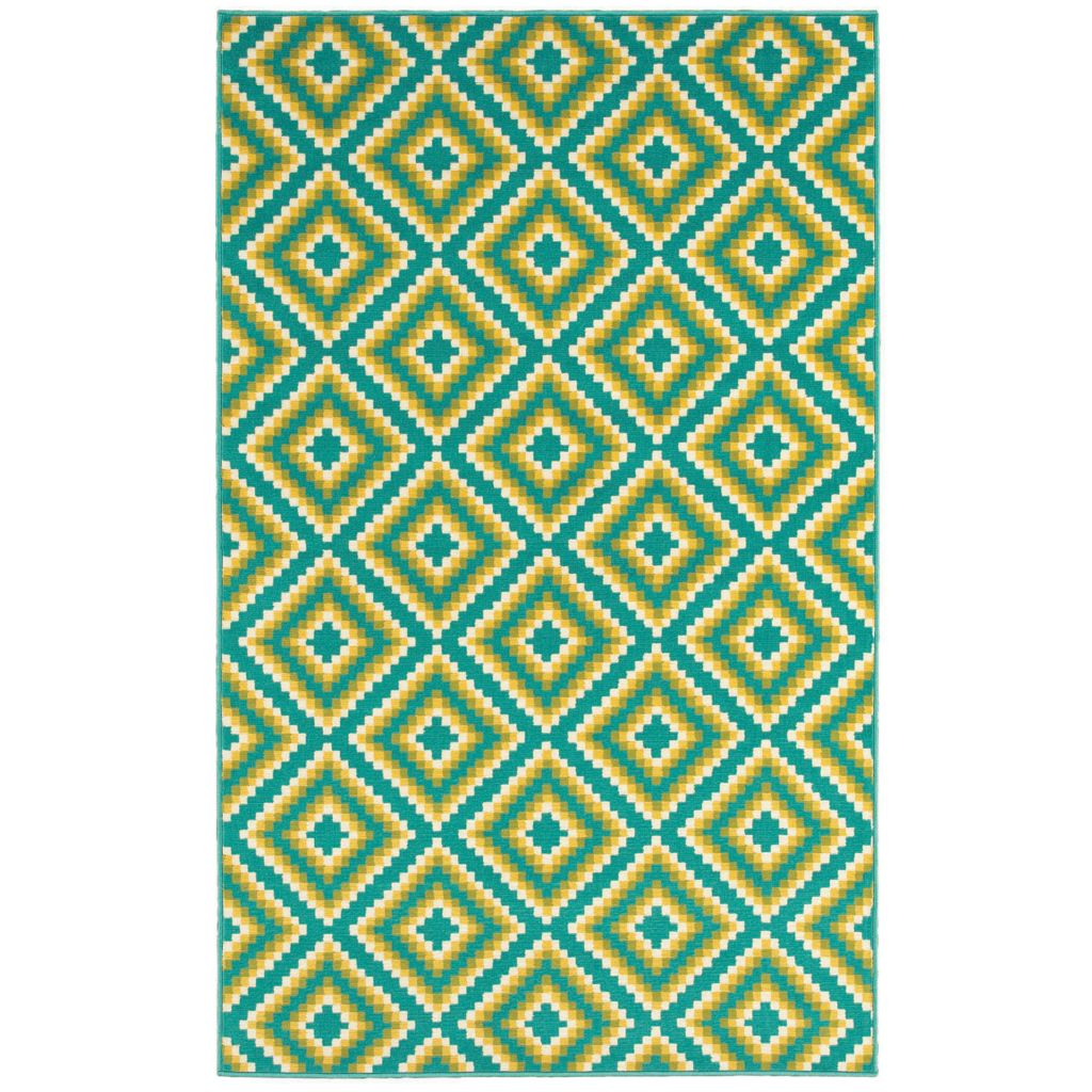 436-169 - Shaw Living™ Al Fresco Indoor/Outdoor Collection Jacqui Woven Rug